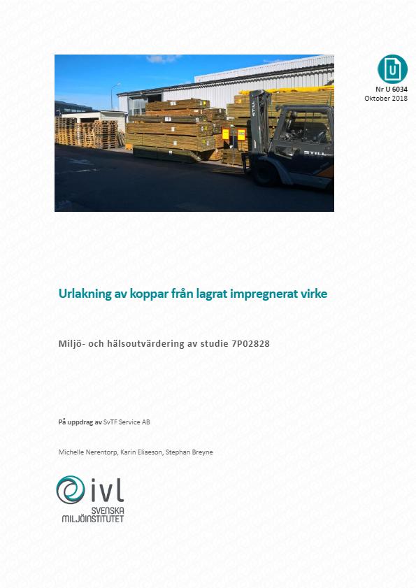 Miljö och Hälsa: IVL påvisar obetydlig risk