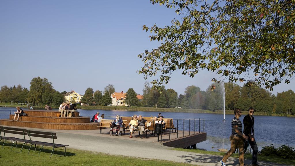 Stadsparken - för kreativa möten i centrala Nässjö