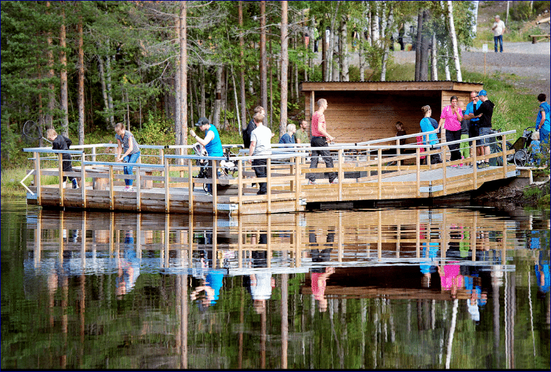 Skellefteå – Tillgänglighetsanpassade bad- och fiskebryggor