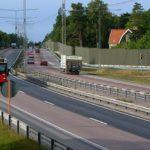 Bullerskärm - trafikverkets projekt i Lahäll