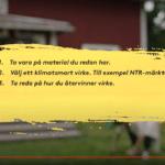 Kunskapsfilm på Informationscentrum för Hållbart Byggande om NTR
