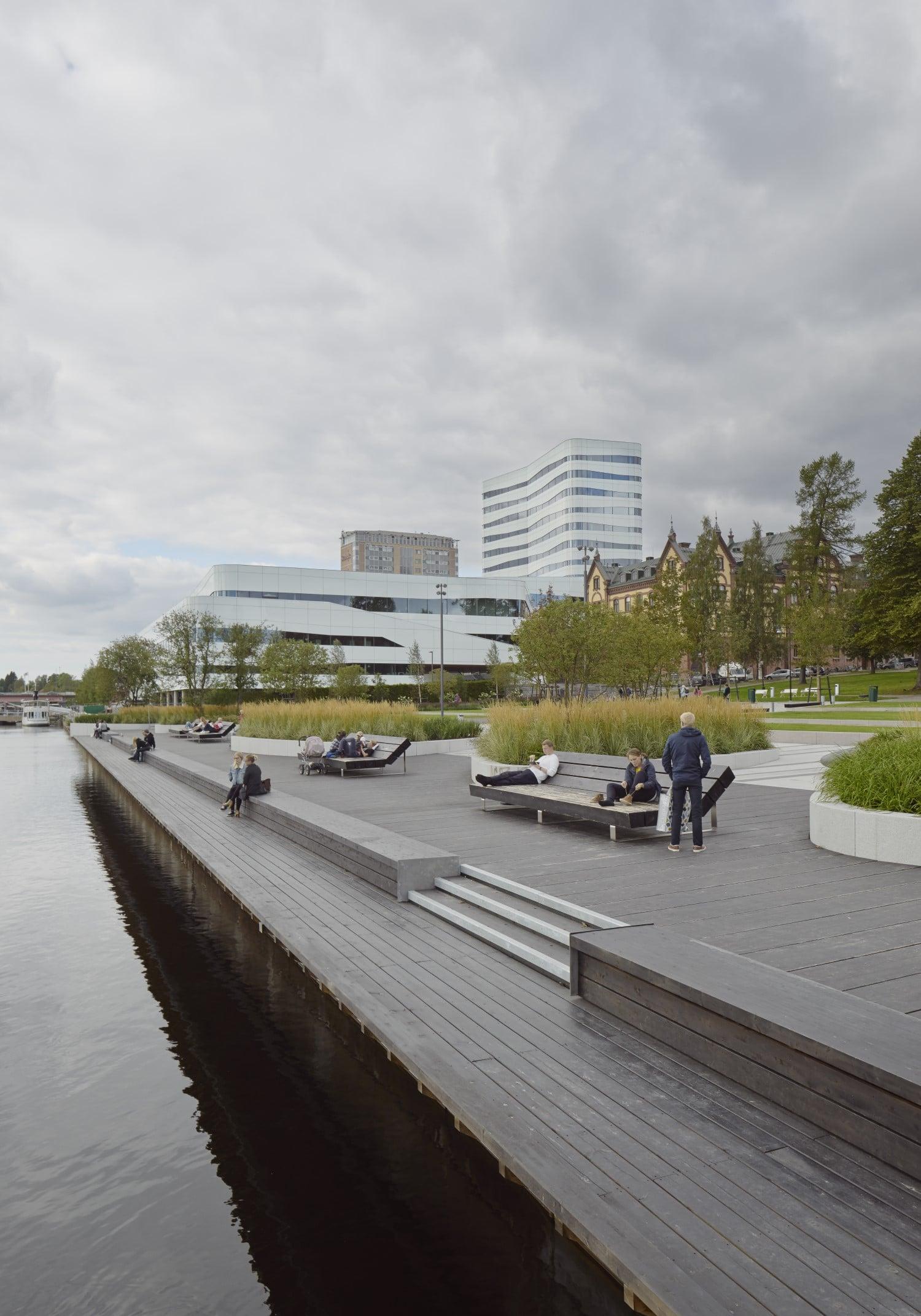 Träskyddspriset 2020 Rådhusparken, Fotograf: Åke E:son Lindman