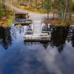 Tillgänglighetsanpassade bad- och fiskebryggor i Skellefteå