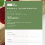 Inbjudan till Kurs i Industriellt Träskydd 2021
