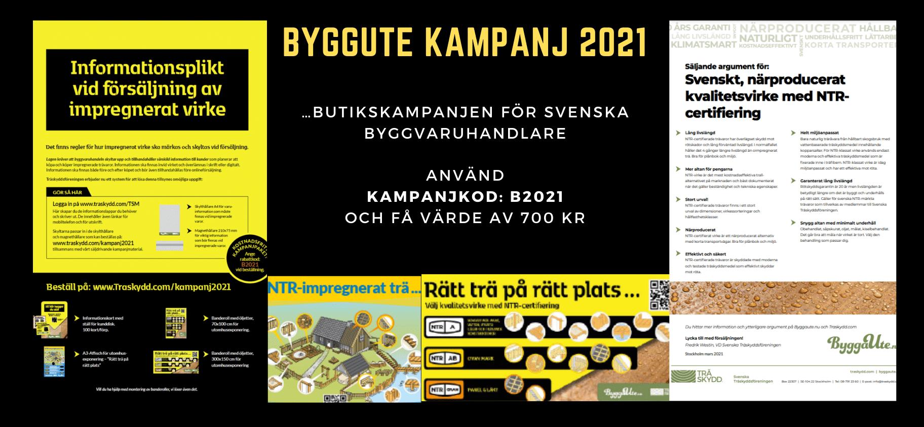 Påminnelse att beställa ByggaUte-kampanjen