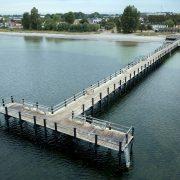 Strand- och badbryggor i havsmiljön, Trelleborg